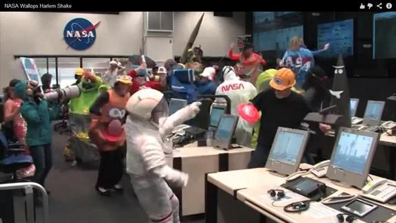 NASA Does the 'Harlem Shake' in Video Spoof