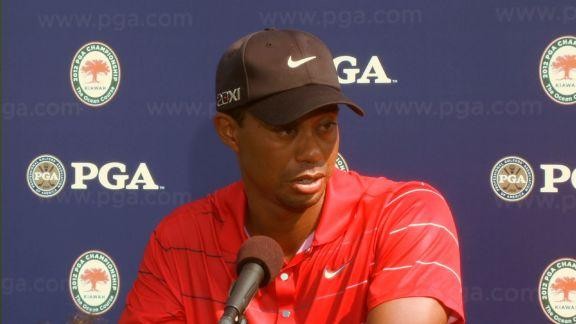 Woods interview after Round 3 of PGA Championship