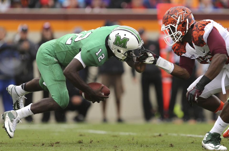 Virginia Tech 29, Marshall 21, 3OT