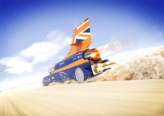 Rocket-Powered Car Aims to Break Land Speed Record