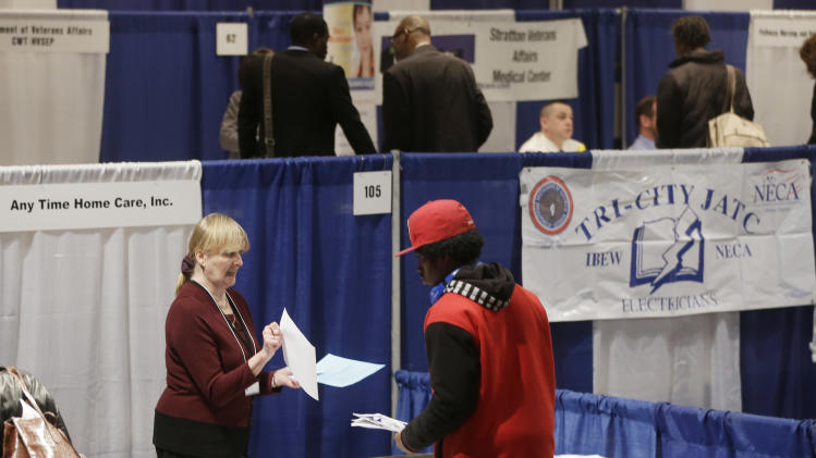 Survey: US private employers add 135K jobs in May