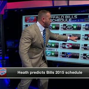 NFL Media's Heath Evans predicts 12-4 record for Buffalo Bills