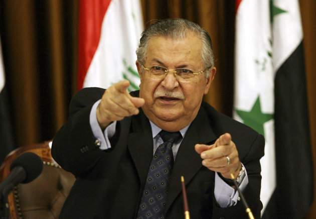 Iraq President Talabani Stable After Stroke