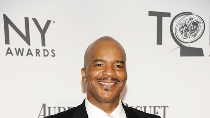 """FILE - This June 10, 2012 file photo shows David Alan Grier at the 66th Annual Tony Awards in New York. Grier is nominated for a Grammy Award for best musical theater album for the cast album for """"The Gershwins' Porgy and Bess."""" (Photo by Evan Agostini /Invision/AP, file)"""