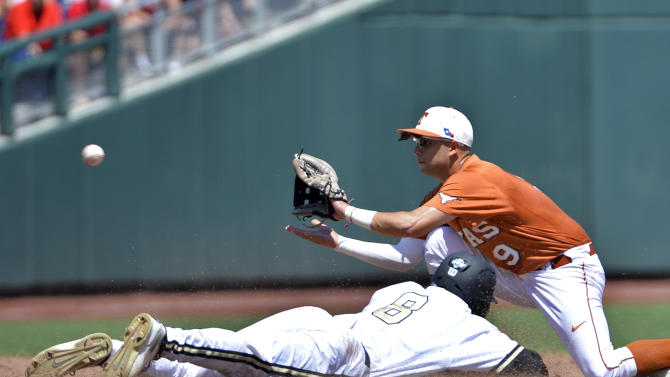 Vandy can't solve Thornhill in 4-0 loss to Texas