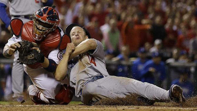 Y'er out: Both sides agree Molina made tag