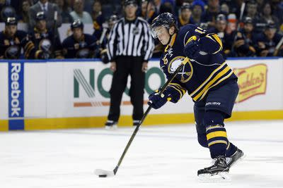 Jack Eichel is already making NHL defenders look foolish