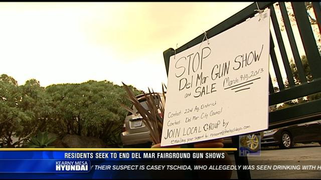 Del Mar woman fighting fairground gun shows