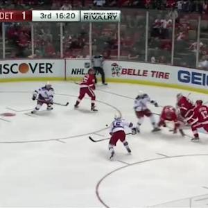 Jimmy Howard Save on Marc Staal (03:42/3rd)