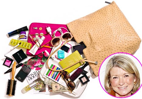 Martha Stewart: What&#39;s in My Bag?