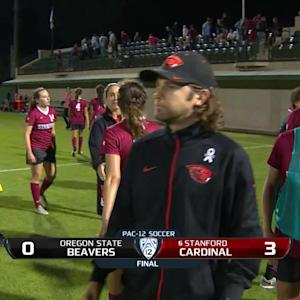 Recap: Stanford women's soccer stymies Oregon State