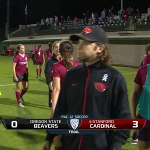 Recap: Stanford women's soccer stymies Oregon State