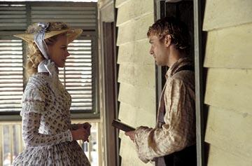 Nicole Kidman and Jude Law in Miramax's Cold Mountain