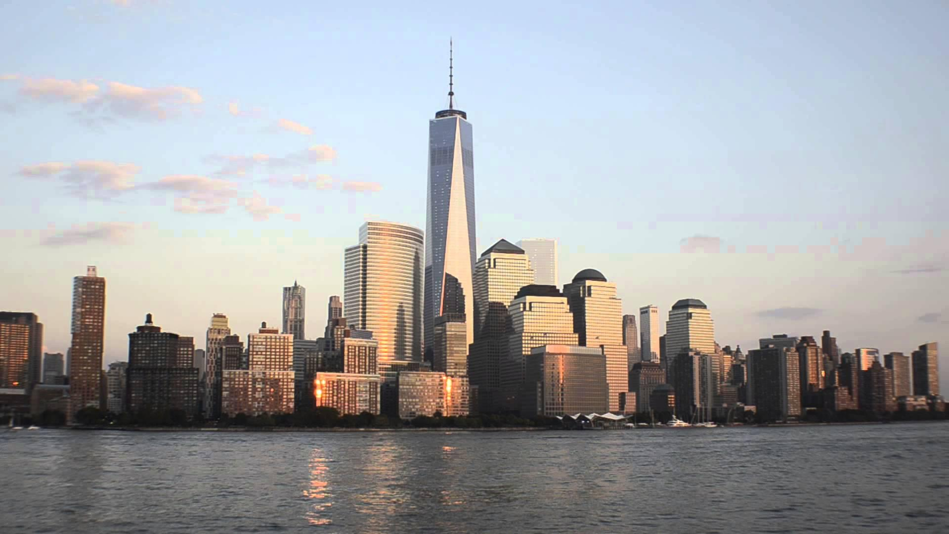 Stunning timelapse video shows One World Trade Center being built from the ground up in 2 minutes