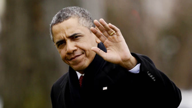 Obama, top lawmakers meet over fiscal cliff