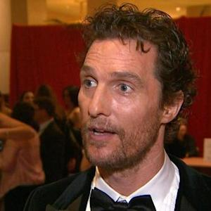 Matthew McConaughey Puts A Year Of Accolades And Acclaim Into Perspective