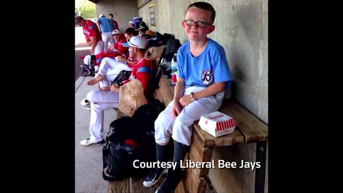 Father of batboy: 'No anger,' son loved the team