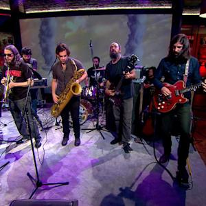 "The Budos Band performs ""Shattered Winds"" on Saturday Sessions"