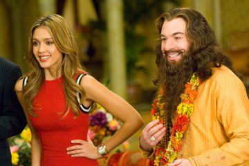 Jessica Alba and Mike Myers in Paramount Pictures' The Love Guru