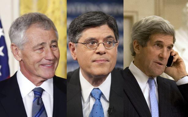 Obama's Cabinet: A Lot of White Guys This Time