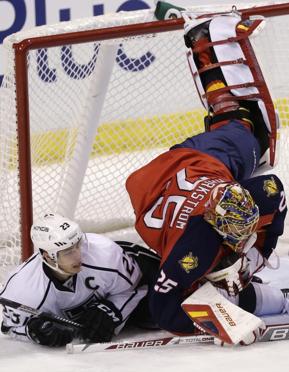 Scrivens stellar as Kings beat Panthers 3-0