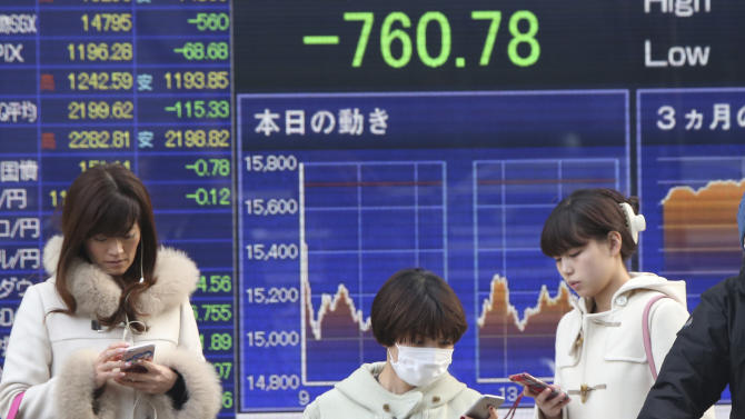 The Latest: Wall Street set to join the rebound at the open