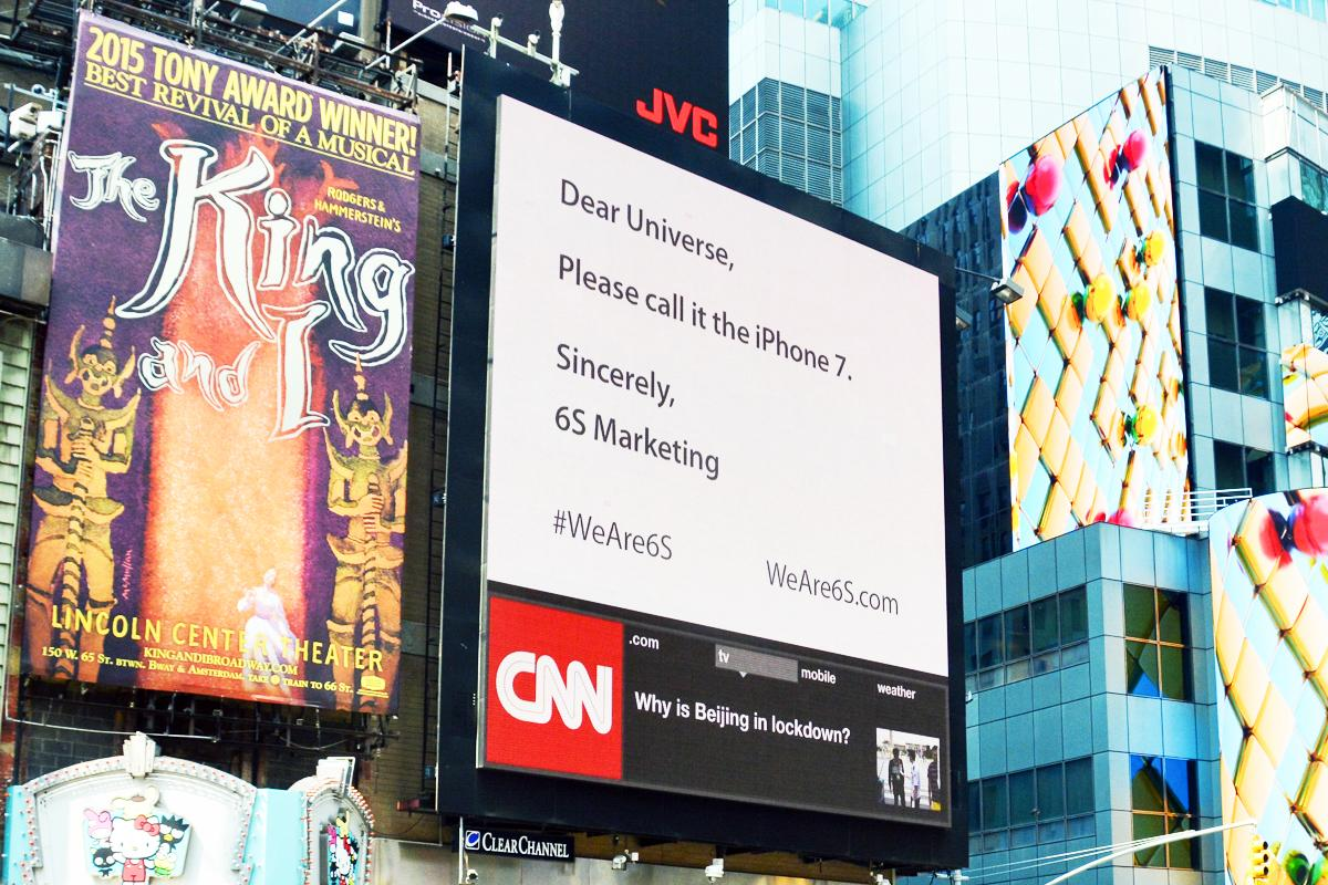 Apple asked to not call its new phone the 'iPhone 6s' for the silliest possible reason