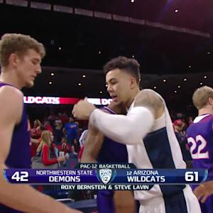 Recap: Arizona men's basketball rallies past Northwestern State