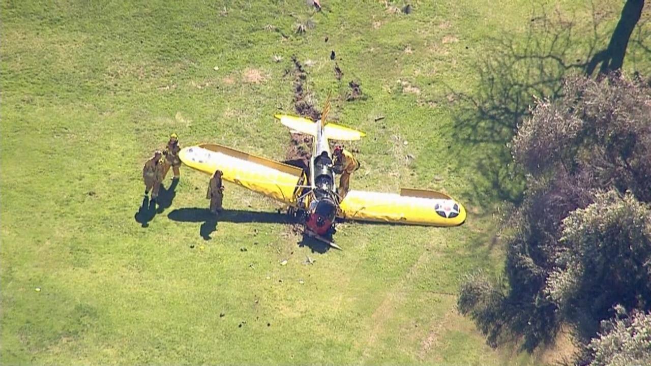 AP source: Harrison Ford crash-lands small plane in LA
