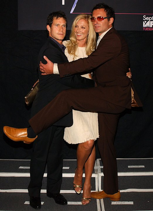 Dylan Walsh, Joely Richardson and Julian McMahon at the FX Networks &quot;Nip/Tuck&quot; 3rd Season Premiere Screening. 