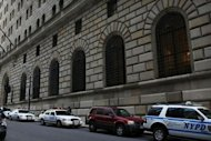 The Federal Reserve Bank in New York City. A Bangladeshi man with alleged al-Qaeda links was arrested on Wednesday in New York on charges of trying to use a 1,000 pound bomb to destroy the city&#39;s Federal Reserve building