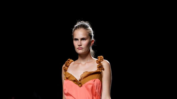 Mercedes Benz Fashion Week Madrid S/S 2013 - Kina Fernandez
