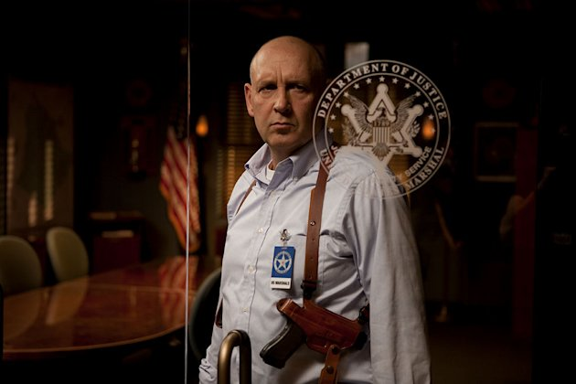 "Nick Searcy as Art Mullen in ""Justified."""