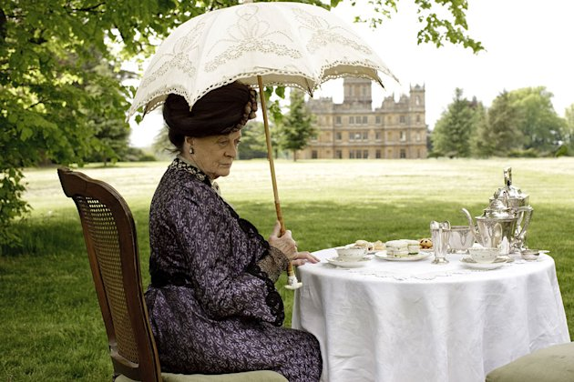 Dame Maggie Smith as Violet, the Dowager Countess of Grantham in &quot;Downton Abbey.&quot; 