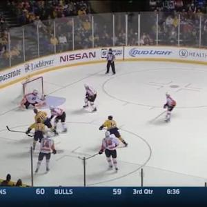 Ray Emery Save on James Neal (17:08/2nd)