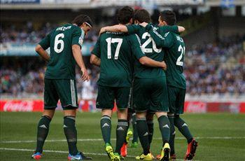 Real Sociedad 3-3 Real Madrid: Basques salvage precious point against los Blancos