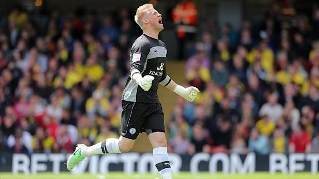 Kasper Schmeichel took to Twitter to reject claims he handed in a transfer request