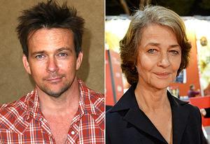 Sean Patrick Flanery, Charlotte Rampling | Photo Credits: Victor Decolongon/Getty Images; Tullio M. Puglia/Getty Images
