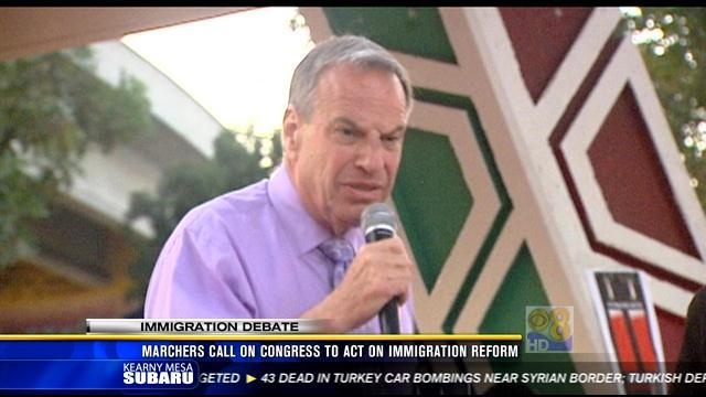 Mayor Filner leads call for immigration reform