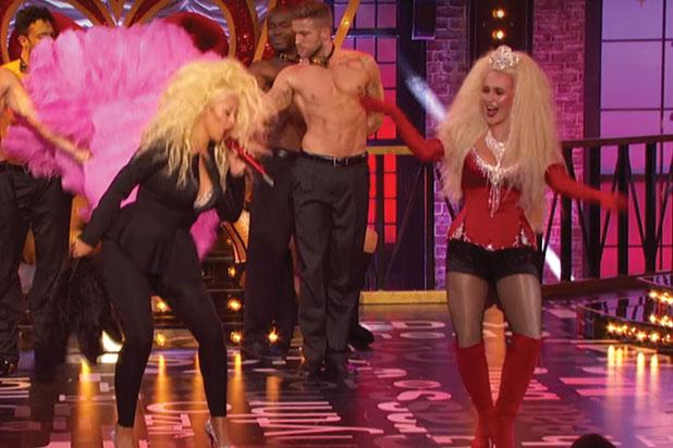 Christina Aguilera, Hayden Panettiere Team Up for 'Lady Marmalade' on 'Lip Sync Battle' (Video)