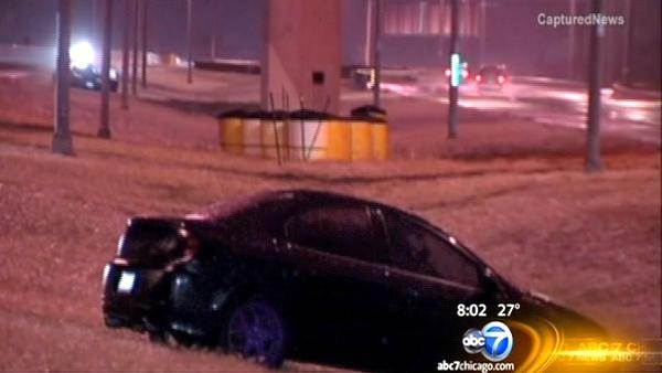 Winter weather leaves behind slippery conditions