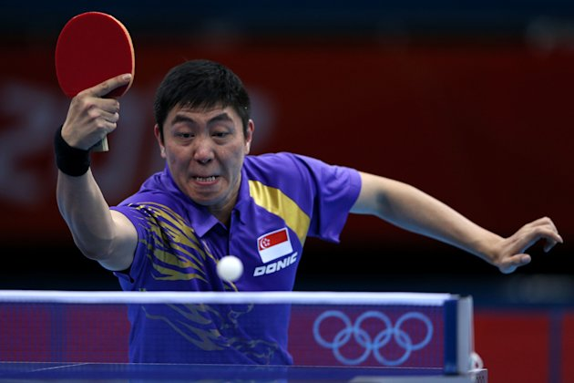 Gao Ning and his team-mates lose 3-0 to China (File photo: Getty images)