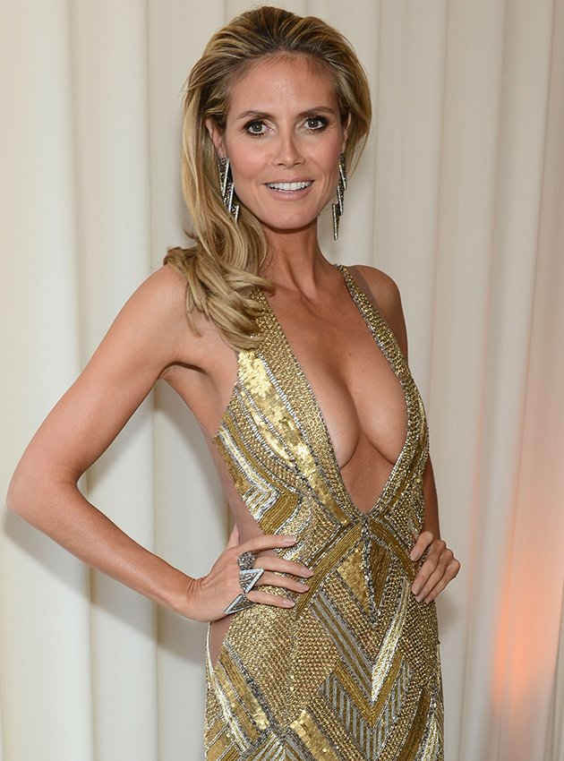 Heidi Klum's Oscars nipple slip was only outshined by her weight loss ...