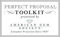 """American Gem Society Offers Expert Advice for Valentine's """"Big Question"""" Poppers"""