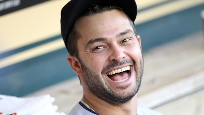 Nick Swisher smiling