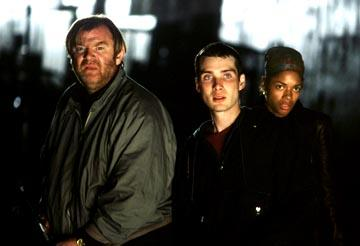 Brendan Gleeson , Cillian Murphy and Naomie Harris in Fox Searchlight's 28 Days Later