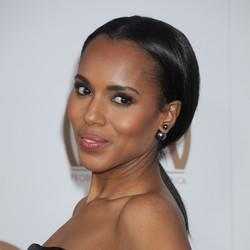 Kerry Washington Gets Glam For The PGAs