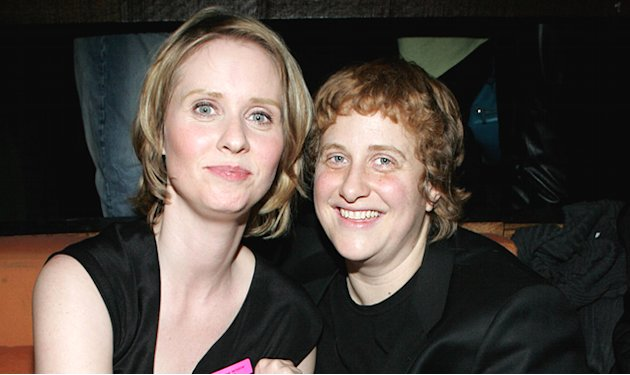 Cynthia Nixon and Christine …