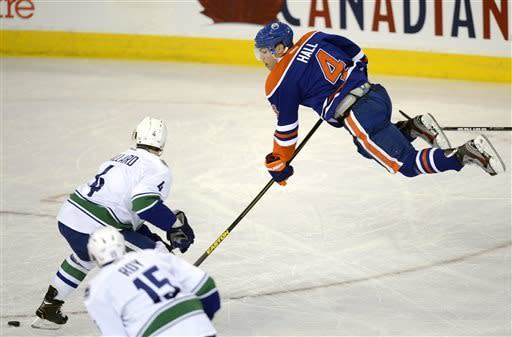 Oilers end season with 7-2 rout of Canucks