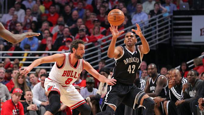 NBA: Playoffs-Brooklyn Nets at Chicago Bulls